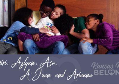 Amiri, Azlynn, Asa, A'Juan & Arianna