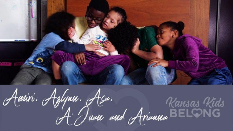 Amiri, Azlynn, Asa, A'Juan & Arianna 7524, 7525, 7526, 7527, 7528