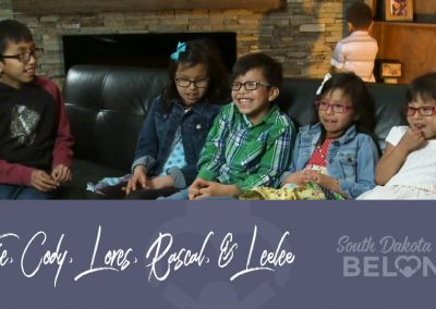 Cotie, Cody, Lores, Rascal, and Leelee