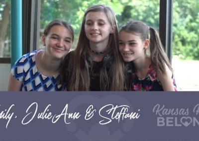 Emily, Julie-Ann & Steffani 7587, 7588,7589