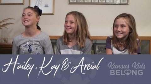 Hailey, Kay & Areial 7629, 7630, 7631